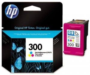 Tusz HP 300 Color, 4 ml, 165 stron