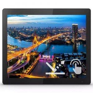 Monitor Philips 15 152B1TFL/00 Touch VGA DVI HDMI DP 3xUSB 3.2 miniUSB