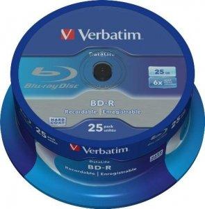 BD-R Verbatim 25 GB SL Datalife Cake 25