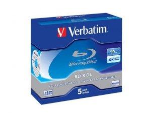 BD-R Verbatim 50GB X6 (5 Jewel Case)