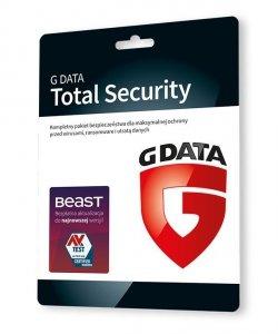 G DATA TOTAL SECURITY 2PC 1 ROK KARTA-KLUCZ