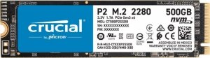 Dysk SSD Crucial P2 500GB M.2 PCIe NVMe 2280 (2300/940MB/s)