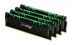 Pamięć DDR4 Kingston Fury Renegade RGB 128GB (4x32GB) 3600MHz CL18 1,35V czarna