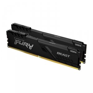 Pamięć DDR4 Kingston Fury Beast 16GB (2x8GB) 2666MHz CL16 1,2V czarna