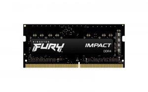 Pamięć SODIMM DDR4 Kingston Fury Impact 16GB (1x16GB) 2666MHz CL15 1,2V 1Gx8