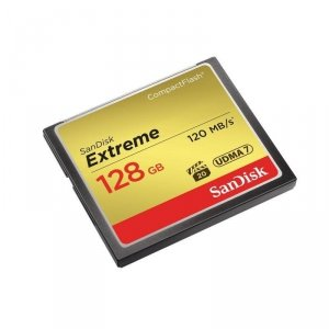 Karta pamięci Compactflash SanDisk Extreme 128GB 120/85 MB/s
