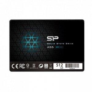 Dysk SSD Silicon Power A55 512GB 2.5 SATA3 (560/530) 3D NAND, 7mm BULK