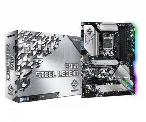 Płyta ASRock B460 Steel Legend /B460/DDR4/SATA3/M.2/USB3.1/PCIe3.0/s.1200/ATX