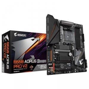 Płyta Gigabyte B550 AORUS PRO V2 /AMD B550/DDR4/SATA3/M.2/USB3.1/PCIe4.0/AM4/ATX