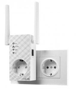Wzmacniacz Asus RP-AC53 Wi-Fi AC750 DualBand AP Repeater 1xLAN MIMO Gniazdko