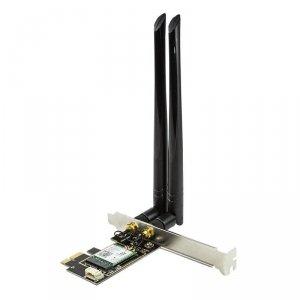Karta PCIe LogiLink WL0245 Wi-Fi 6 i BT 5.0