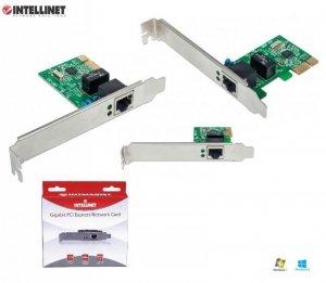 Karta sieciowa Intellinet 10/100/1000 RJ45 Gigabit na PCI Express