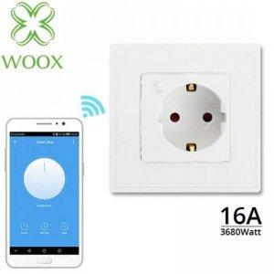Gniazko inteligentne Woox Smart 16A Wi-Fi Podtynkowe
