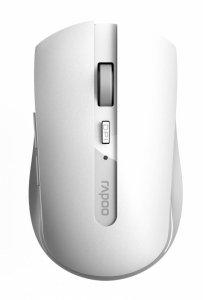 Mysz bezprzewodowa Rapoo 7200M 2.4 GHz + BT, biała