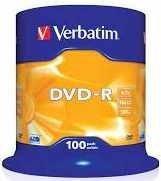 Verbatim płyta DVD-R 4,7GB 16X/1szt
