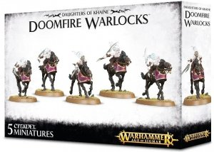 Warhammer Age of Sigmar - Daughters of Khaine: Doomfire Warlocks