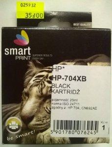 HP 704 CZARNY            smart PRINT