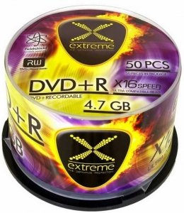 Extreme DVD+R 16x 4.7GB/1szt