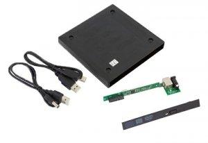 Obudowa/kieszeń na napęd optyczny CD/DVD SATA | USB2.0