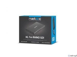 Obudowa zewnętrzna HDD sata NATEC RHINO 2,5 USB 3.0 Aluminium Black