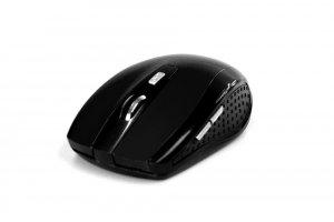 RATON PRO - Bezprzewodowa mysz optyczna, 1200 cpi, 5 przycisków, kolor czarny