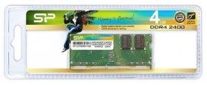 Pamięć DDR4 SODIMM  4GB 2400MHz CL17 1,2V 512Mx8 260pin Silicon Power