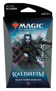 MTG - Kaldheim - Black Theme Booster