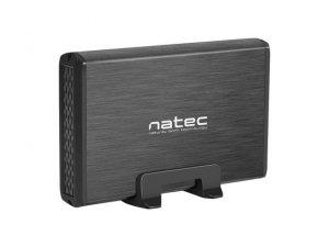 Obudowa na dysk Natec RHINO USB 3.0 HDD/SSD 3.5 ALU Black Slim