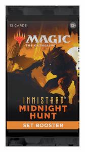 MTG - Innistrad: Midnight Hunt- Set Booster