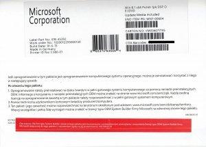 Używany Windows 8.1 OEM x64 PL (XN7-00604)