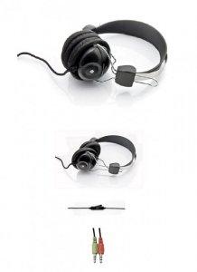 Słuchawki z mikrofonem Esperanza EH108 Vivace czarne