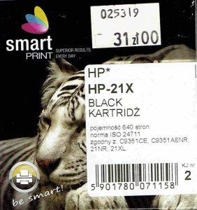 HP 21                    SMART