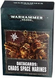 Warhammer 40000: Datacards: Chaos Space Marines