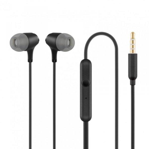 Słuchawki z mikrofonem Acme HE22 czarne