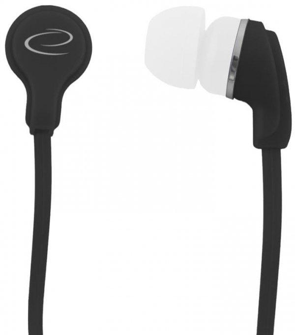 Słuchawki Esperanza EH147K Neon czarne