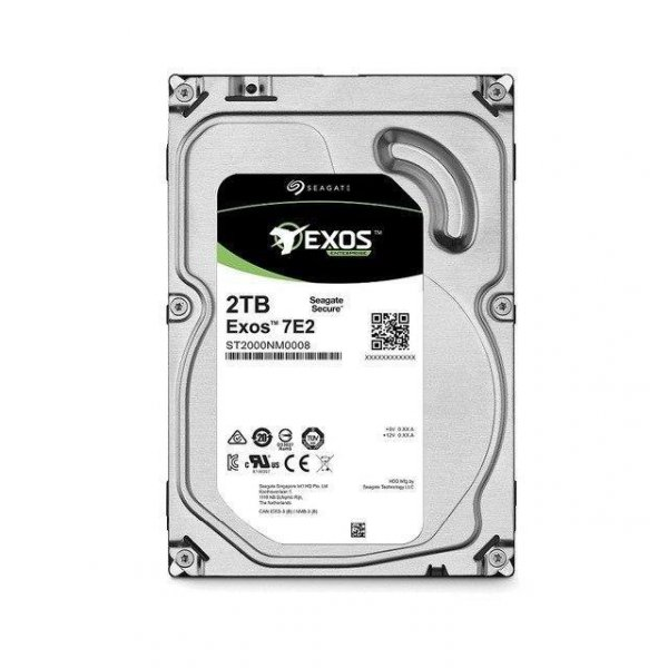 Dysk SEAGATE EXOS Enterprise Capacity ST2000NM0008 2TB 128MB SATA