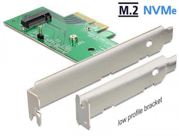 Kontroler M.2 Delock PCIe -> M.2 NGFF