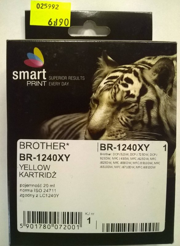 BROTHER LC1240 YELLOW    smart PRINT
