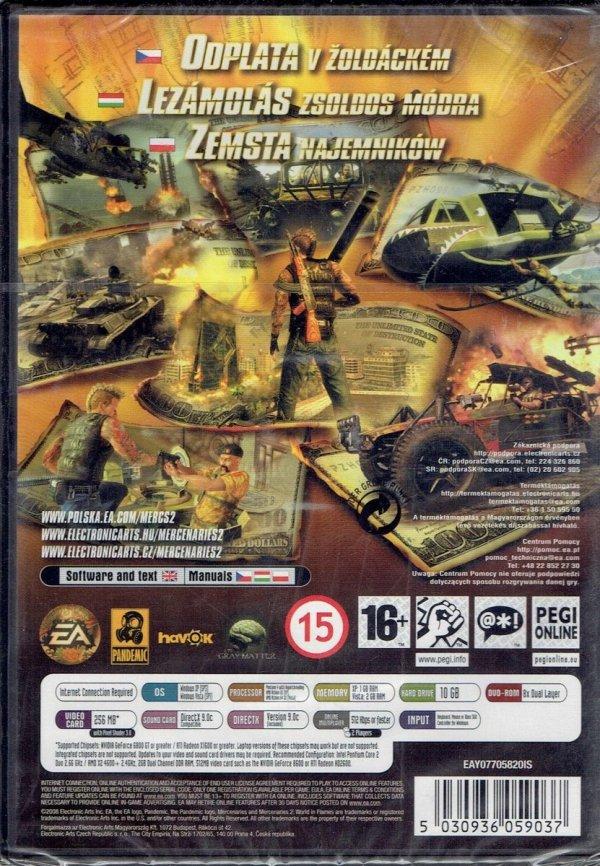MERCENARIES 2 PC DVD