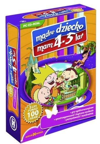 MĄDRE DZIECKO MAM 4-5 LAT PC