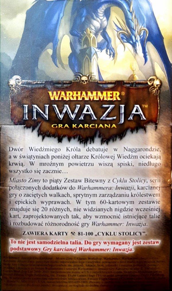 Warhammer: Inwazja – Cykl Stolicy – Miasto Zimy