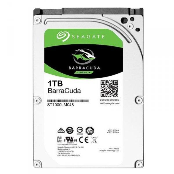 Dysk Seagate BarraCuda, 2.5'', 1TB, SATA/600, 5400RPM, 128MB cache