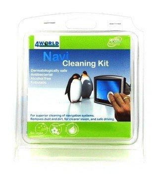 NAVI Cleaning Kit zestaw czyszczący do nawigacji GPS oraz PDA (4World 04834)