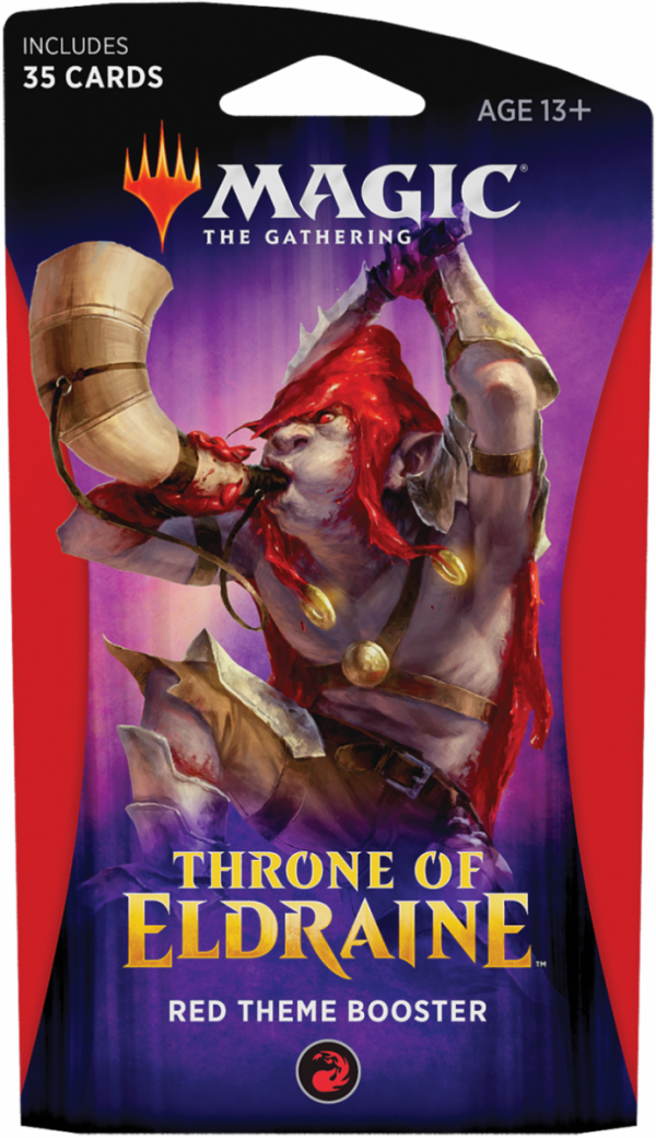 MTG Throne of Eldraine Red Theme Booster