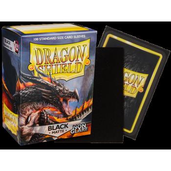 Koszulki Dragon Shield Matte - Non-glare - Black Amina (100 Sleeves)
