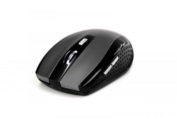 Mysz bezprzewodowa Media-Tech RATON PRO MT1113T optyczna czarno-szara