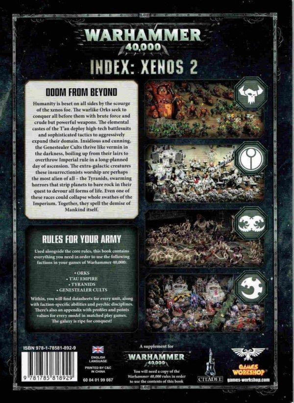 INDEX : XENOS 2 TYŁ
