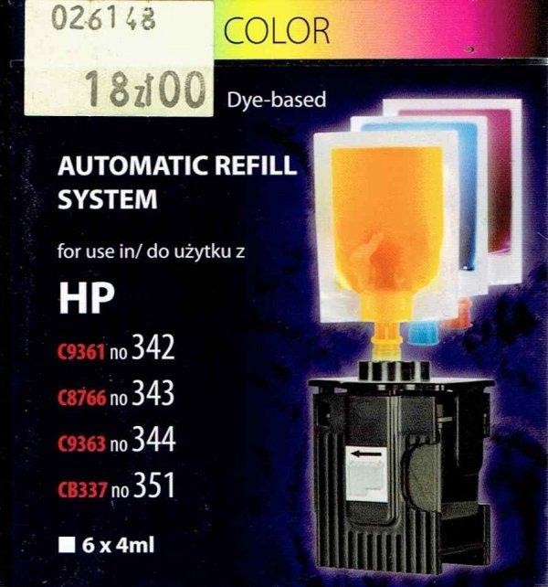 REFILL HP ARS-351    KOL.6x4ml.front