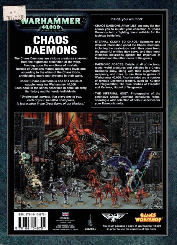 W40k.Codex.Chaos Daemons.tył