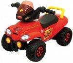 Jeździk Quad Cars - pojazd do odpychania dla najmłodszych fanów Zygzaka Mcqueena